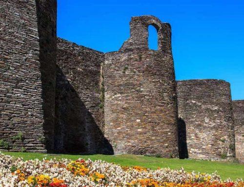 Lucus Augusti, muralla de pizarra, granito e áridos