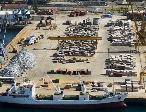 Os produtos mineiros, clave nos portos de Galicia
