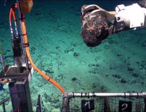 La carrera de la minería hacia el fondo del mar