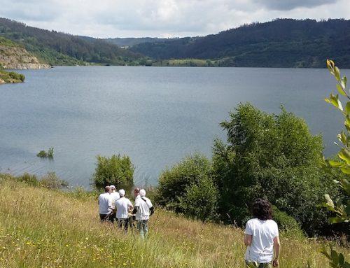 Os segredos que garda o fondo do lago de Meirama