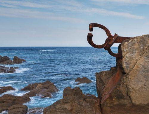 El granito de O Porriño, base de la obra de Eduardo Chillida